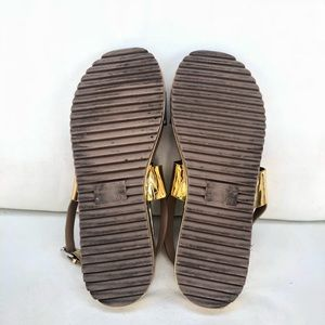 cd5b6cf0ee79 Zara Shoes - ZARA TRF Flat Platform Track Sole Sandals 41 10 US